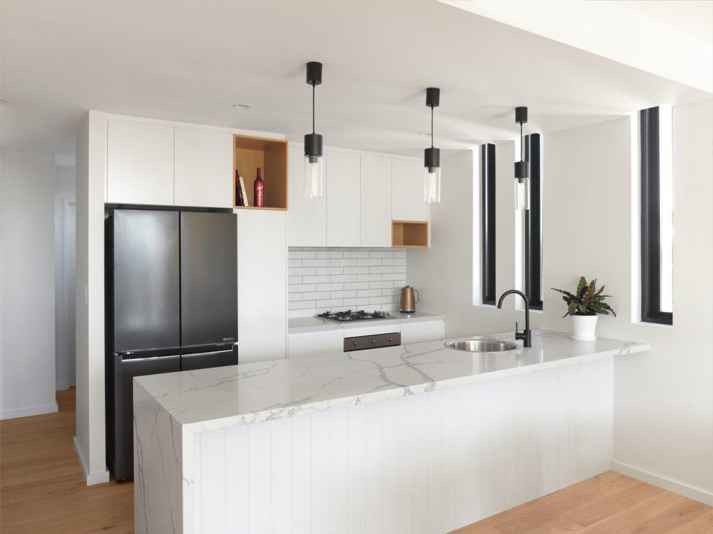 couvaras architects apartments interior kitchen