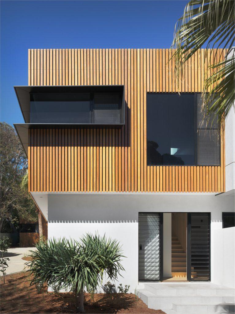 couvaras architects townhouse exterior