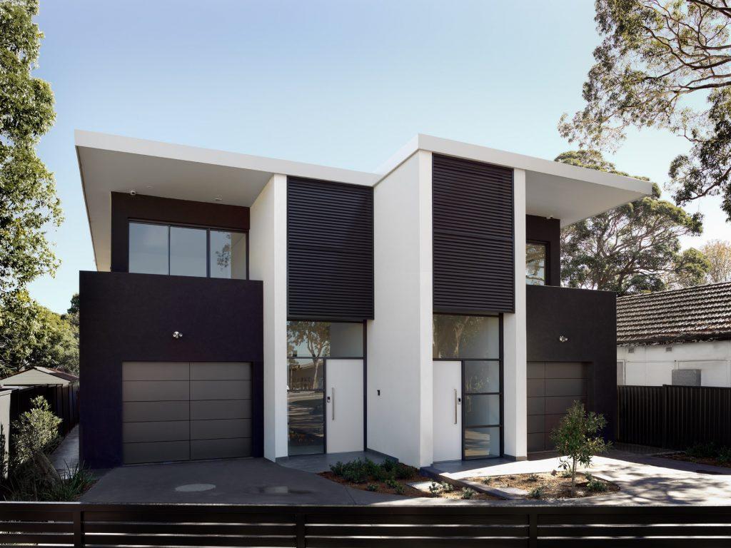 couvaras architects duplex exterior front