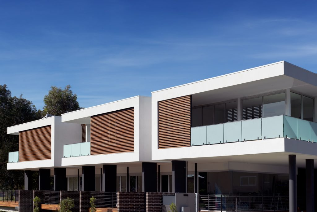 couvaras architects mixed use commercial residential exterior